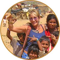 Suzan in India